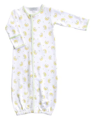 Magnolia Baby Boys / Girls Baby Moon Unisex Converter Gown - Yellow