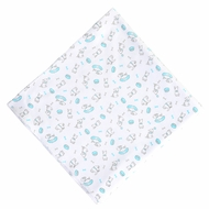 Magnolia Baby Boys Blue Best Buddy Dog Printed Swaddle Blanket