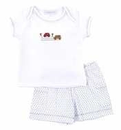 Magnolia Baby Boys Beep Beep Car / Bus Short Set