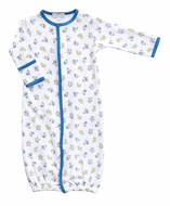 Magnolia Baby Boys Blue Perfect Prince & Castle Converter Gown
