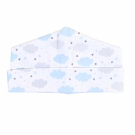 Magnolia Baby Boys My Little Star Clouds Printed Hat - Blue