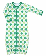 Magnolia Baby Green Lucky Clover Printed Converter Gown