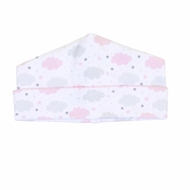 Magnolia Baby Girls My Little Star Clouds Printed Hat - Pink