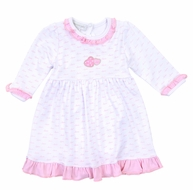 Magnolia Baby Girls Pink Sweet Valentine Hearts Dress Set