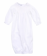 Magnolia Baby Zach and Zoe's Classics White Smocked Bishop Gown - Girls