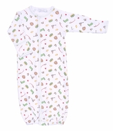 Magnolia Baby Boys Gone Fishing Printed Converter Gown