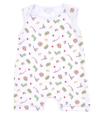 Magnolia Baby Boys Gone Fishing Sleeveless Playsuit Romper