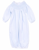 Magnolia Baby Girls Jillian and Jacob's Classics Bishop Gown - Blue