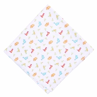 Magnolia Baby Boys Jurassic Dinosaurs Printed Swaddle Blanket