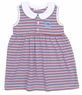 Magnolia Baby Little Girls Red / Blue Crab Fest Dress