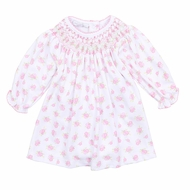 Magnolia Baby Precious Peonies Bishop Dress Set