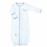 Magnolia Baby Boys Blue Putting Around Golf Converter Gown