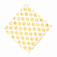 Magnolia Baby Girls / Boys Yellow Sunshine Printed Swaddle Blanket