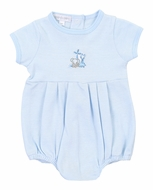 Magnolia Baby Boys Blue Sweet Safari Bubble