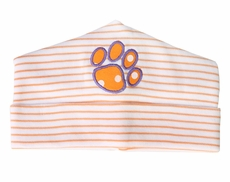 Magnolia Baby Boys / Girls Orange Tigers Paw Hat