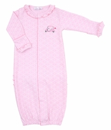 Magnolia Baby Girls To a Tee Golf Ruffle Converter Gown - Pink