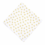 Magnolia Baby Yellow Vintage Ducky Printed Swaddle Blanket