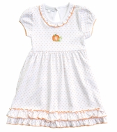 Magnolia Baby Little Girls Vintage Pumpkin Dress