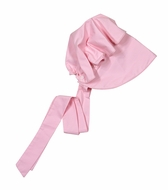 Nantucket Kids Girls Traditional Beatrice Bonnet - Peony Pink