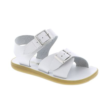Footmates Childrens Shoes - Tide Sandals - White