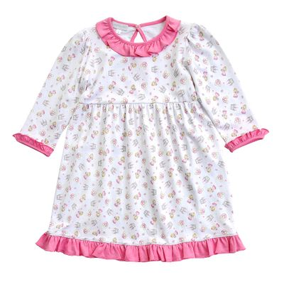 Magnolia Baby Little Girls Pink Perfect Princess & Castle Dress