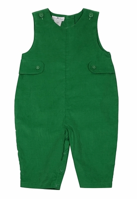 Petit Ami Baby Boys Corduroy Longall - Grass Green