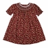 Petit Ami Baby / Toddler Girls Burgundy / Pink Floral Smocked Dress