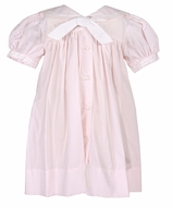 Petit Ami Baby / Toddler Girls Traditional Sailor Suit Dresses - Pink