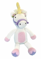 "Petit Ami Zubels Pink Twinkle the Unicorn Stuffed 14"" Toy"