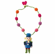 Lemon Loves Lime Girls Christmas Nutcracker Necklace