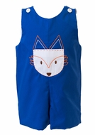 Proper Peony Baby / Toddler Boys Blue Fox Woods Pocket Jon Jon
