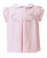The Proper Peony Legacy Girls Big Sister Dress - Pink