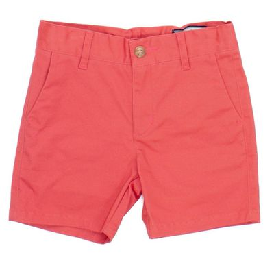 Properly Tied Boys Patriot Club Shorts - Coral