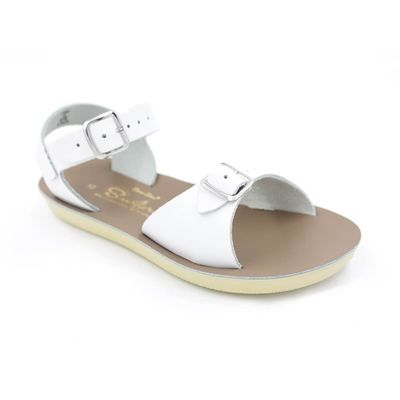 Salt Water Sun-San Surfer Sandals - White