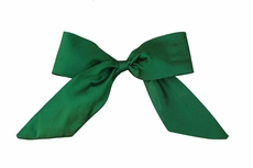 Susanne Lively Girls Hair Bow to Match Dress - Solid Green