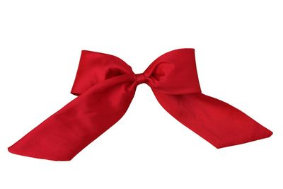 Susanne Lively Girls Hair Bow to Match Dress - Solid Red