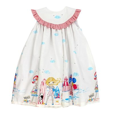 The Bailey Boys Toddler Girls Surfside Vacation Float Dress