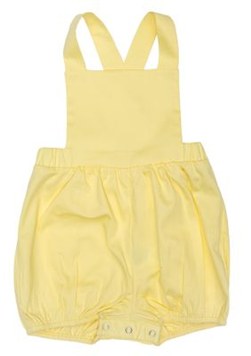 The Oaks Baby / Toddler Girls Brooke Scallop Sunsuit - Yellow