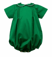 Pre-Order: The Proper Peony Baby Boys Forrest Emerald Green Christmas Bubble