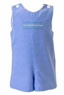 The Proper Peony Baby / Toddler Boys Blue Chambray Martin Jon Jon