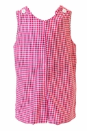 The Proper Peony Baby / Toddler Boys Red Gingham Martin Jon Jon
