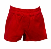 The Proper Peony Parkside Boys Spencer Shorts - Red