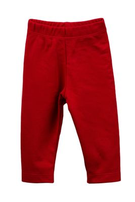 The Proper Peony Parkside Girls Leggings - Red