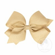 Wee Ones Girls Limited Edition Wee Sparkle Bow - Champagne