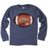 Wes & Willy Boys Midnight Blue Game On Football Shirt