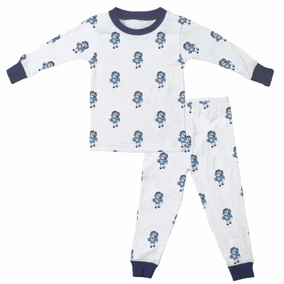 Wes & Willy Collegiate Baby / Toddler Boys UNC Tarheels Pajamas - All Over Print