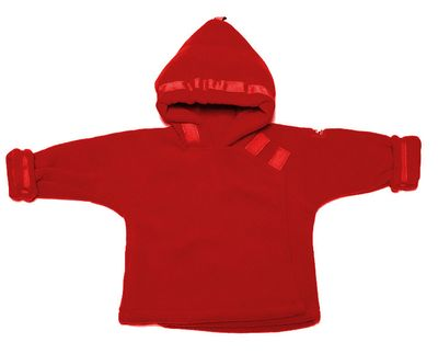 Widgeon Coats Boys / Girls Fleece Warm Plus Favorite Jacket with Hood - Red