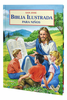 Spanish Illustrated Bible For Children (Bibllia Ilustrada Para Ninos) (Hardcover, Four Color - Case of 16)