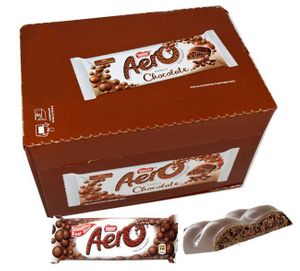Aero Milk Chocolate Bar 24 Count (UK)