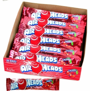 Air Heads Taffy 36ct - Cherry